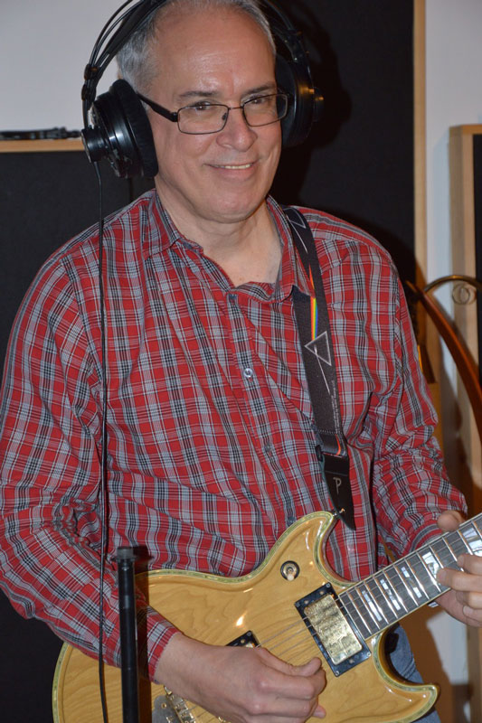 Rick in the Studio