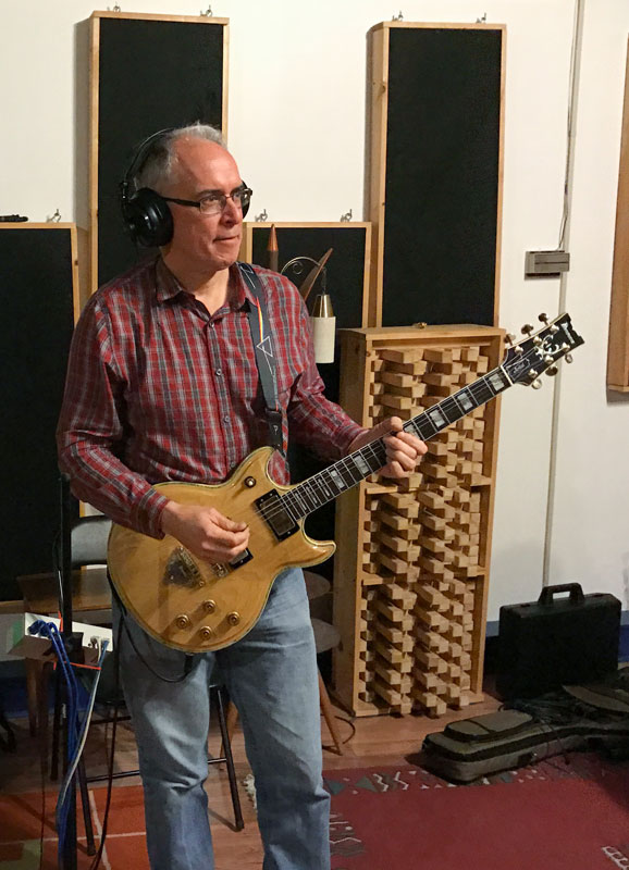 Rick in the Studio