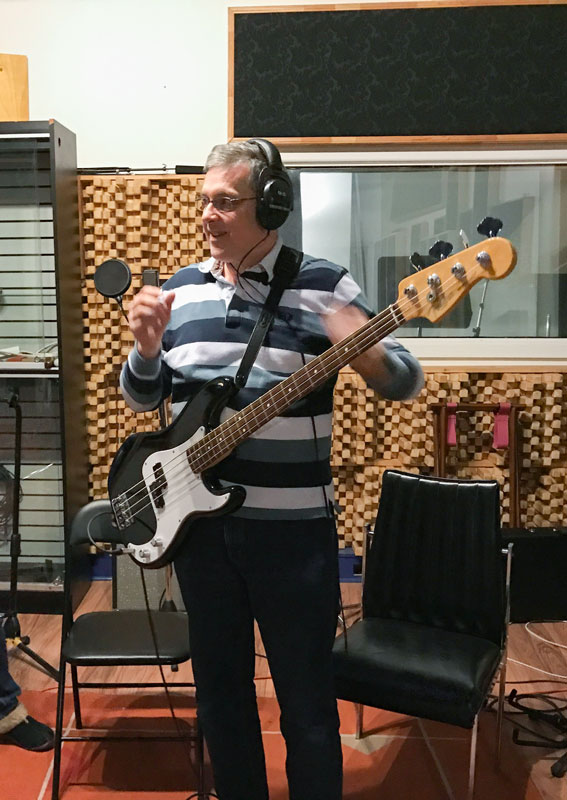 Scott in the Studio