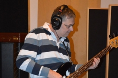 Scott Playing in the Studio