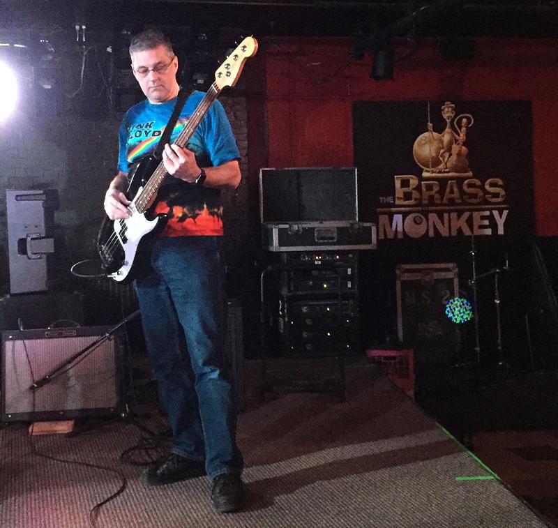 Scott at the Brass Monkey on November 30th, 2016