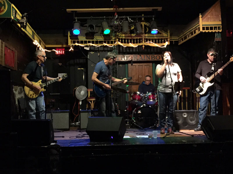 Shades of Grey at the Rainbow Bistro on November 16th, 2016